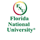 Florida National University Header Horizontal Logo